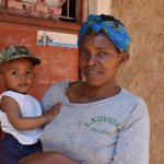 The Water Project: Kyamwao Community -  Christine Musyoka And Her Son