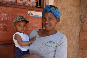 The Water Project:  Christine Musyoka And Her Son