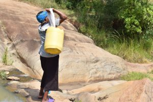 The Water Project:  Hauling Water
