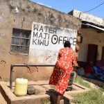 The Water Project: Kyamwao Community -  Water Kiosk