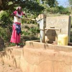 The Water Project: Kithumba Community D -  Fecthing Water