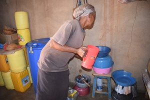 The Water Project:  Fetching Water From Containers