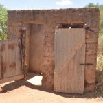 The Water Project: Kathonzweni Community A -  Latrine And Bathroom