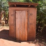 The Water Project: Ngitini Community E -  Latrine