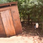 The Water Project: Ngitini Community E -  Latrine And Handwashing Station