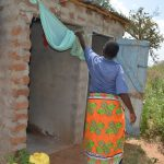 The Water Project: Wamwathi Community A -  Bathing Shelter And Latrines