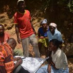 The Water Project: Wamwathi Community A -  Reviewing Plans