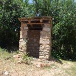 The Water Project: Kyamwao Community A -  Latrine