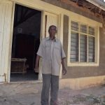 The Water Project: Kyamwao Community A -  Mbithi Matheka In Front Of His Home
