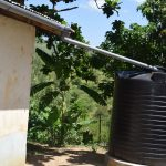 The Water Project: Kyamwao Community A -  Rainwater Harvesting Tank