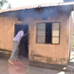 The Water Project: Kithumba Community E -  Closing Kitchen Door