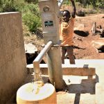 The Water Project: Mitini Community -  Filling Container