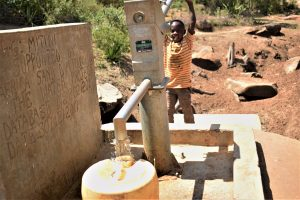 The Water Project:  Filling Container