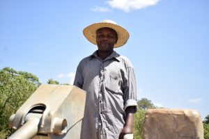 The Water Project:  John Kyalo Wambua