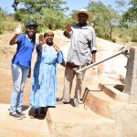 The Water Project: Mitini Community -  Lilian Kendi Hannah Kasiola And John Kyalo Wambua