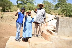 The Water Project:  Lilian Kendi Hannah Kasiola And John Kyalo Wambua