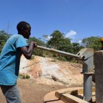The Water Project: Mitini Community A -  Pumping Well