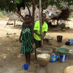 The Water Project: Lokomasama, Menika, DEC Menika Primary School -  Mashing Rice