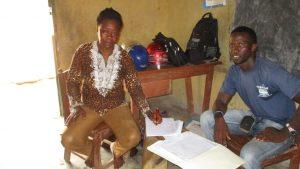 The Water Project:  Mrs Hannah Kanu Head Teacher