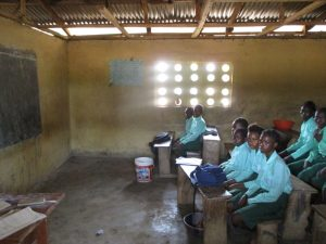 The Water Project:  Students Inside Class Room