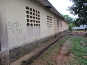 The Water Project:  Back Of School Building