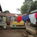 The Water Project: Mahera, SLMB Primary School -  Clothes Drying