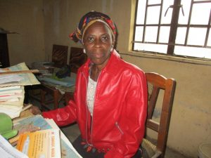 The Water Project:  Mrs Rosaline Emmah Kamara