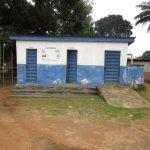 The Water Project: Mahera, SLMB Primary School -  School Latrines