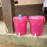 The Water Project: Mahera, SLMB Primary School -  Water Storage Containers