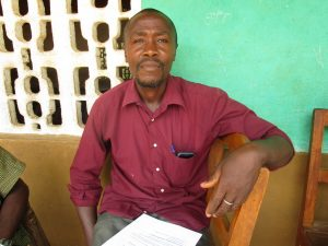 The Water Project:  Almammy S Sesay Head Teacher