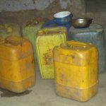 The Water Project: Lokomasama, Bompa, DEC Bompa Primary School -  Water Storage Containers