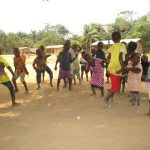 The Water Project: Lungi, Tonkoya Village -  Children Dancing