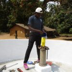 The Water Project: Lungi, Tonkoya Village -  Chlorination