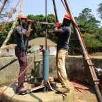 The Water Project: Lungi, Tonkoya Village -  Drilling