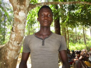 The Water Project:  Ibrahim Dumbuya