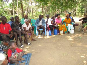 The Water Project:  People Listen During Training