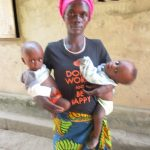 The Water Project: Lungi, Yaliba Village -  Aminata Conteh And Her Twins