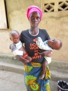 The Water Project:  Aminata Conteh And Her Twins