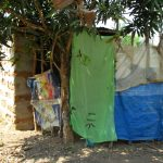 The Water Project: Lungi, Yaliba Village -  Bath Shelter And Latrine