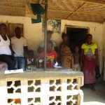 The Water Project: Lungi, Yaliba Village -  Cherinor Bangura Far Left