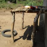 The Water Project: Lungi, Yaliba Village -  Dish Drying Rack