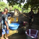 The Water Project: Lungi, Yaliba Village -  Main Water Source