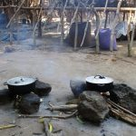 The Water Project: Lungi, Yaliba Village -  Outdoor Cooking Area