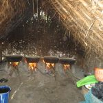 The Water Project: Lungi, Yaliba Village -  Salt Processing