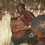 The Water Project: Lungi, Yaliba Village -  Sorting Palm Fruit