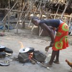 The Water Project: Lungi, Yaliba Village -  Woman Cooking