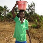 The Water Project: Lungi, Komkanda Memorial Secondary School -  Carrying Water