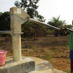 The Water Project: Lungi, Komkanda Memorial Secondary School -  Fetching Water