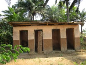 The Water Project:  Staff Quarter Latrine