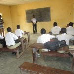 The Water Project: Lungi, Komkanda Memorial Secondary School -  Students In Class Room